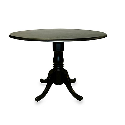 Carolina Chair & Table Company Provence Dining Table in Antique Black