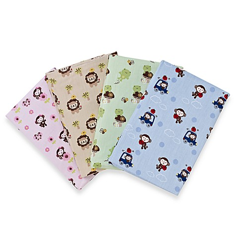 Kidsline™ Animal Sateen Crib Sheet