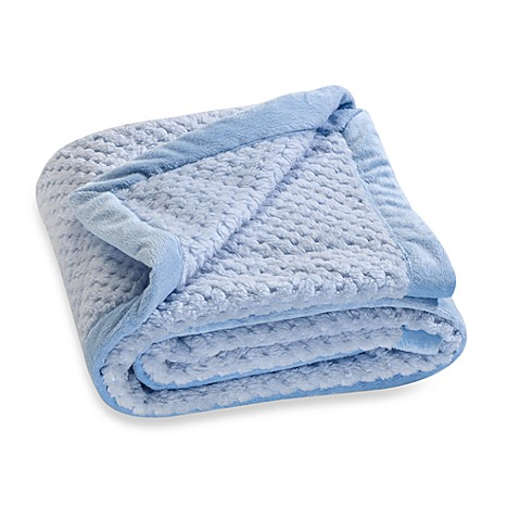 Kidsline™ Boa Blanket in Blue