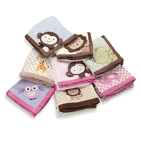 Kidsline™ Boa Embroidered Blanket