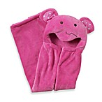 kidsline™ Animal Hooded Blanket in Pink Monkey