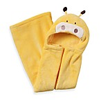 kidsline™ Animal Hooded Blanket in Yellow Giraffe
