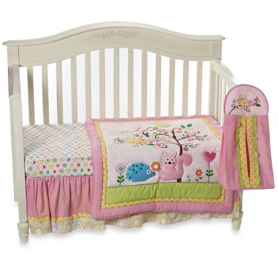 Dena Happi Tree 8-Piece Crib Bedding Set