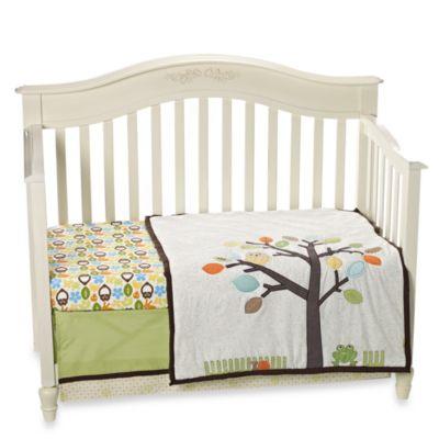 notNeutral® Arbor Friends 4-Piece Crib Bedding