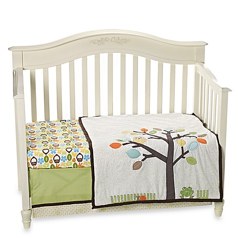 notNeutral® Arbor Friends 4-Piece Crib Bedding and Accessories