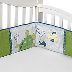 CoCaLo Baby® Turtle Reef 4-Piece Crib Bumper Set