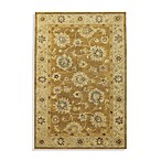 KAS Kasmir Hand-Tufted Wool Area Rug in Coffee/Beige