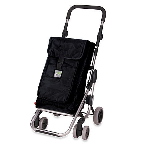 Playmarket Go Up Shopping Trolley in Black