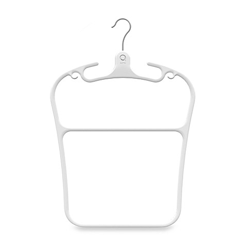 Quirky® Contour Plastic Hanger in White