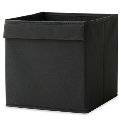 Black Fabric Drawer