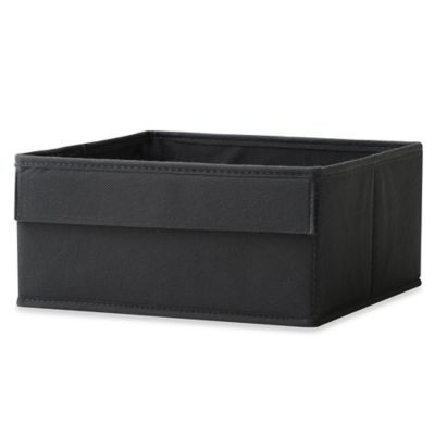 Real Simple® Half Height Fabric Drawer in Black