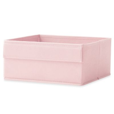 Real Simple® Half Height Fabric Drawer in Pink
