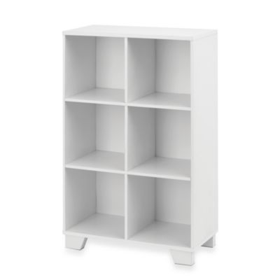 Real Simple White Cubby Storage