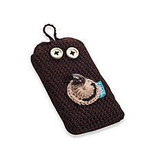 Stache™ Knitwhit™ Phone Cover - Brown Bear