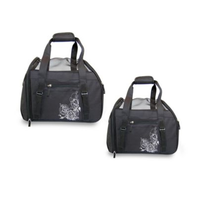 Bergan® Signature Series Comfort Carrier™ Pet Carrier in Black