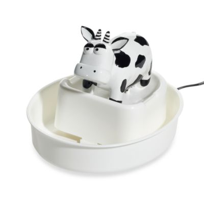 cats rule® Total Care Automatic Fresh Water Fountain in Cow