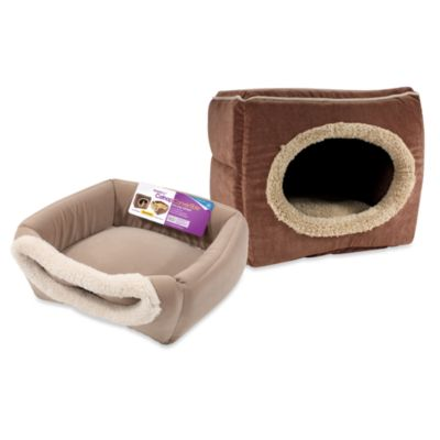 SmartyKat® CatnipLounger™ Refillable Catnip Bed - Brown