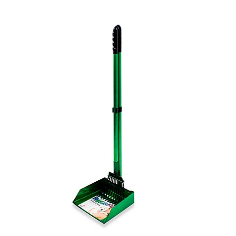 Flexrake® Panorama Large Dog Scoop & Rake Set in Green