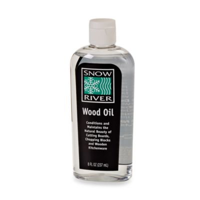 Snow River Wood Oil in 8-Ounce Bottle