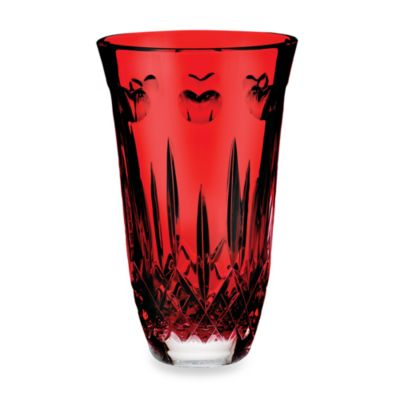 "Waterford® I Love Lismore ""Red"" 8-Inch Vase"