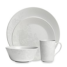 Monique Lhuillier Waterford® Bliss Grey 4-Piece Place Setting