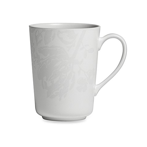 Monique Lhuillier Waterford® Bliss Grey 16-Ounce Mug
