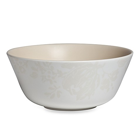 Monique Lhuillier Waterford® Bliss Cream 6 1/2-Inch All-Purpose Bowl
