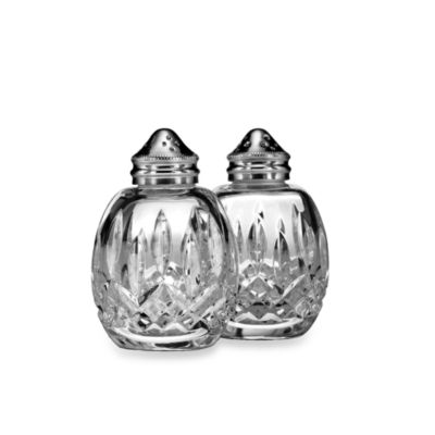 Waterford® Classic Lismore Round Salt & Pepper Set