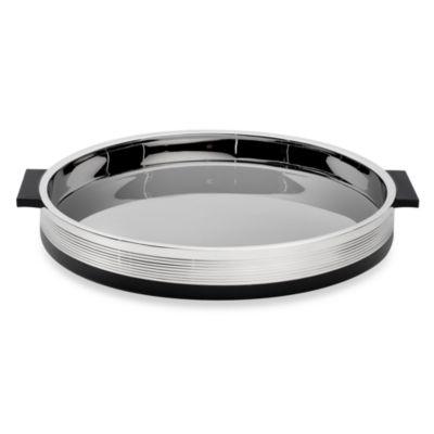 Vera Wang Wedgwood® Debonair 14-Inch Round Tray