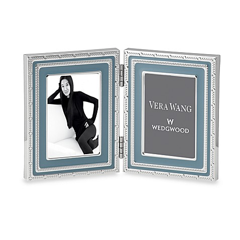 Vera Wang Wedgwood® with Love 2-Inch x 3-Inch Folding Frame in Dusk