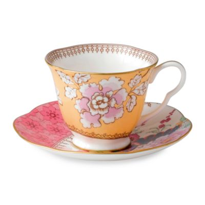 Wedgwood® Butterfly Bloom Floral Bouquet Cup & Saucer