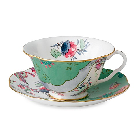 Wedgwood® Butterfly Bloom Butterfly Posy Cup & Saucer