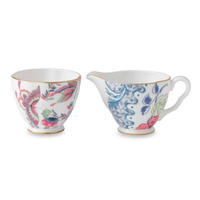 Wedgwood® Butterfly Bloom Sugar & Creamer