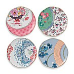 Wedgwood® Butterfly Bloom 8 1/4-Inch Tea Plates (Set of 4)