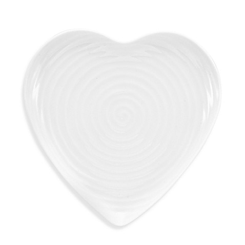 Sophie Conran for Portmeirion® 9-Inch Heart Accent Plate in White
