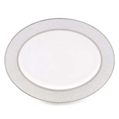 Lenox® Pearl Beads 13-Inch Oval Platter