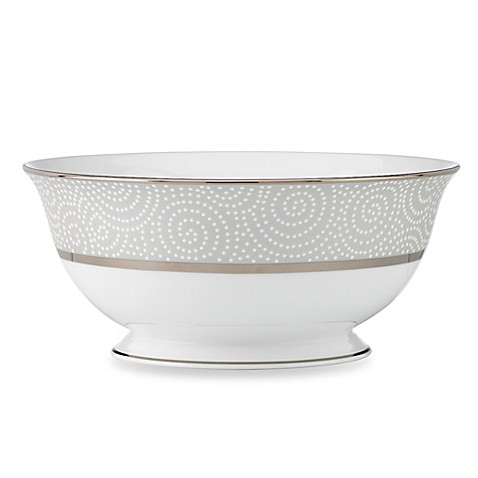 Lenox® Pearl Beads Serving Bowl