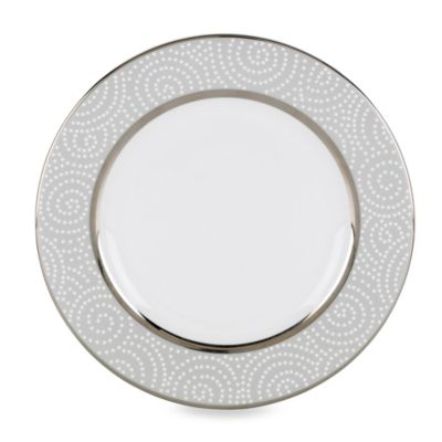 Pearl Platinum Salad Plate
