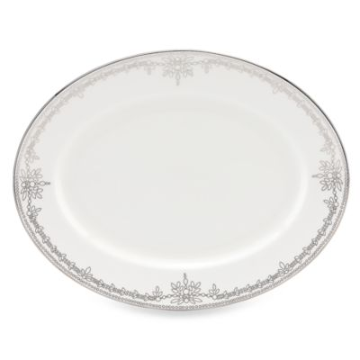 Marchesa by Lenox® Empire Pearl 13-Inch Oval Platter