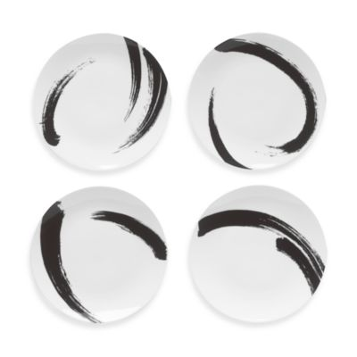 Mikasa® Brushstroke 9 1/2-Inch Accent Plates (Set of 4)