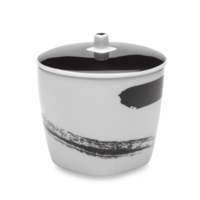 Black White Sugar Bowl