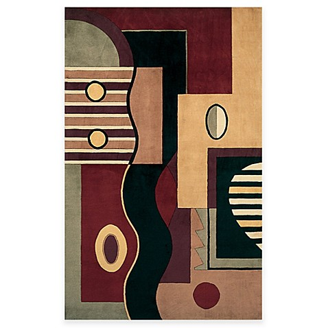 KAS Signature Hand-Tufted Wool Area Rug (Jewel Tone Multishapes)