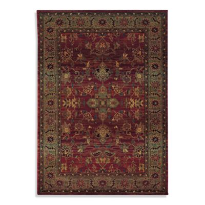 Sphinx by Oriental Weavers Kharma Area Rug in Red Multi