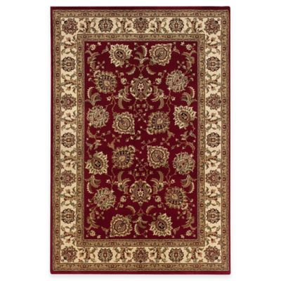 Sphinx™ by Oriental Weavers Ariana Area Rug in Ivory/Red Brighton