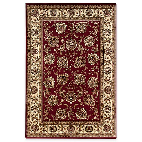 Oriental Weavers Ariana Area Rug in Ivory/Red Brighton