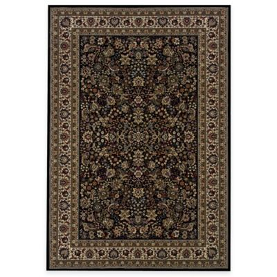 Oriental Weavers Ariana 2-Foot 3-Inch x 7-Foot 9-Inch Area Rug in Black