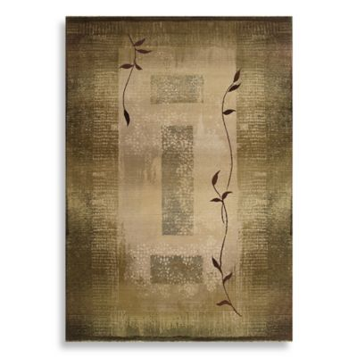 Sphinx by Oriental Weavers Generations Area Rug in Green/Climbing Vine