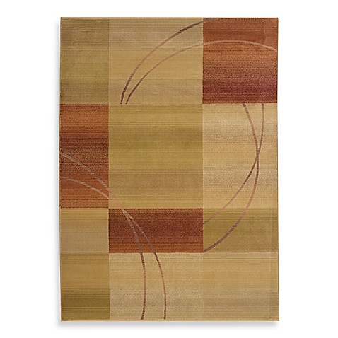 Oriental Weavers Generations Red/Cukar Area Rug - 4-Foot x 5-Foot 9-Inch