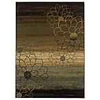 Sphinx™ by Oriental Weavers Hudson Area Rug in Multi/Dahlia Silhouette