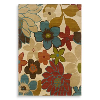 Sphinx by Oriental Weavers Emerson Area Rug in Multi/Flower Town